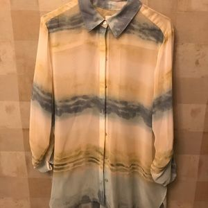 Ladies chiffon blouse from Chico's